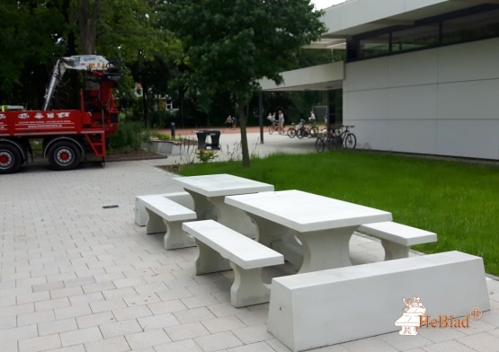 Bench Standard Natural Concrete