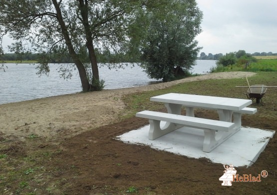 Bottom plate Picnic table Natural Concrete