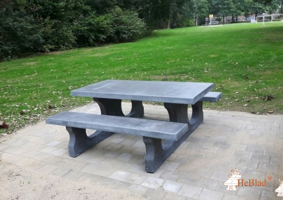 Picnic table Standard Anthracite-Concrete