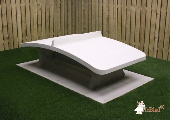 Foot Volleyball Table Natural Concrete