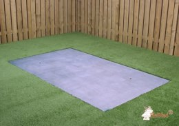Concrete base plate for tennis table Anthracite-Concrete