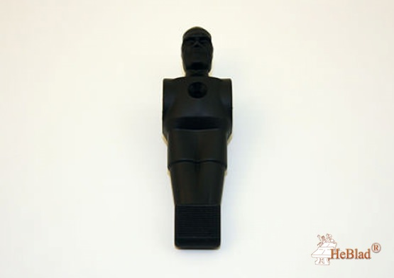 Football figure black synthetic material