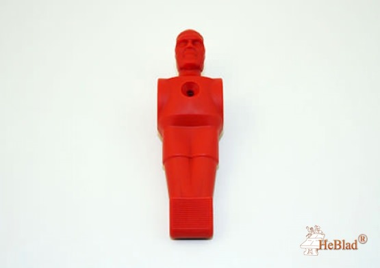 Football figure red synthetic