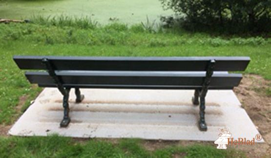 Bottom plate for all brands of Benches Natural Concrete