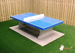 Concrete Ping-pong table blue