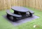 Picnic table Standard Anthracite Oval