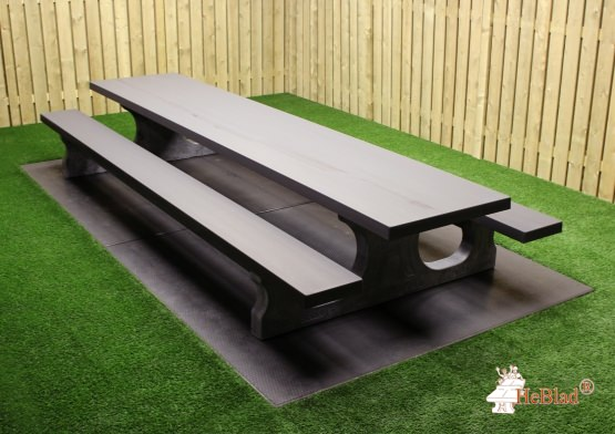 Picknickset Standard Anthrazit-Beton XL
