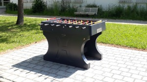 Concrete football table